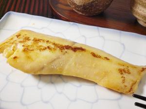 こんがり焦げた味噌の風味